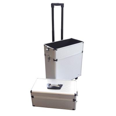 Trolley valise ALU 3 niveaux
